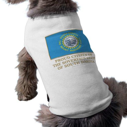 Ciudadano orgulloso de Dakota del Sur Ropa Macota