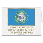 Ciudadano orgulloso de Dakota del Sur Felicitaciones