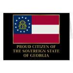 Ciudadano orgulloso de Georgia Felicitacion