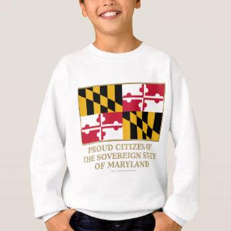 Ciudadano orgulloso de Maryland Sudadera