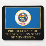 Ciudadano orgulloso de Minnesota Alfombrillas De Raton
