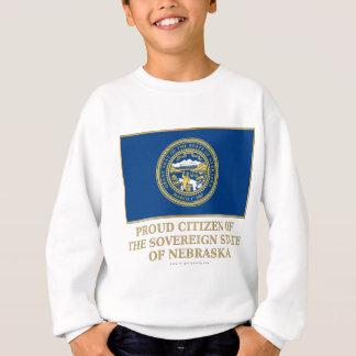 Ciudadano orgulloso de Nebraska Sudadera