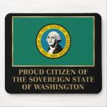 Ciudadano orgulloso de Washington Alfombrilla De Raton