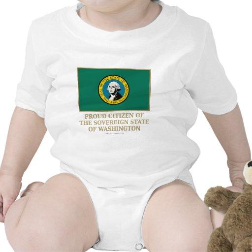 Ciudadano orgulloso de Washington Trajes De Bebé