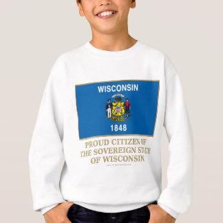 Ciudadano orgulloso de Wisconsin Sudadera