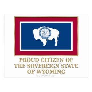 Ciudadano orgulloso de Wyoming Postales