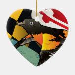 Ciudadano Oriole, pájaro del estado de Maryland Ornamentos De Reyes