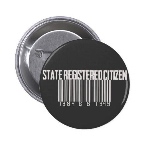 Ciudadano registrado estado pins