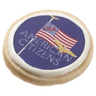Ciudadanos americanos, galletas de la Azul-Torta