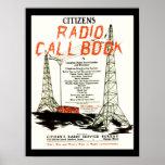Ciudadanos Callbook de radio Impresiones