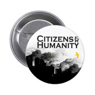 Ciudadanos para la humanidad pins