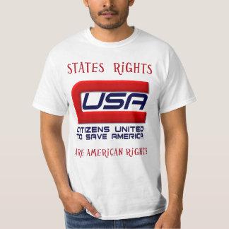 Ciudadanos unidos para ahorrar América Camisas