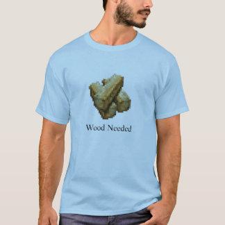 Ciudadela - necesario de madera - azul clara playera