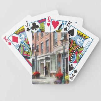 Ciudades - dando a direcciones el puerto del sur d baraja cartas de poker