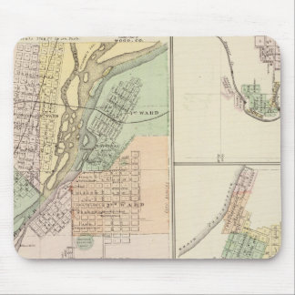 Ciudades de Centralia y de Grand Rapids Alfombrilla De Ratones