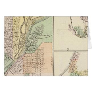 Ciudades de Centralia y de Grand Rapids Tarjeton