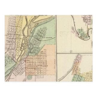 Ciudades de Centralia y de Grand Rapids Postales