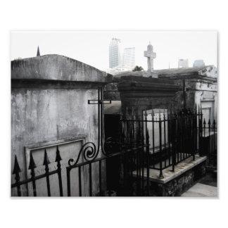 """""""Ciudades"""" de la foto muerta del cementerio de New"""