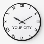 Ciudades de la plantilla del reloj mundial