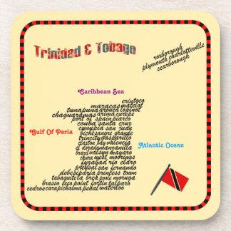 Ciudades de Trinidad and Tobago Posavasos