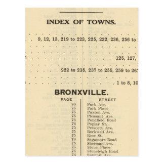 Ciudades del índice, Bronxville Postal