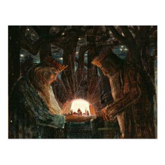 Ciurlionis - Kings' Fairy Tale Postcard