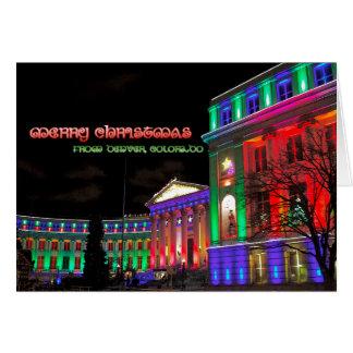Civic Center, Denver, Colorado Card