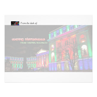 Civic Center, Denver, Colorado Letterhead