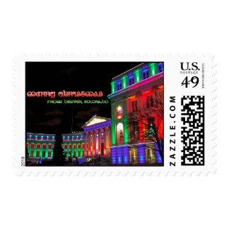 Civic Center, Denver, Colorado Postage