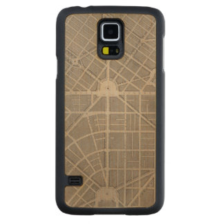 Civic Center, San Francisco Carved Maple Galaxy S5 Slim Case