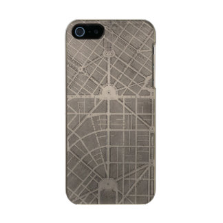 Civic Center, San Francisco Metallic iPhone SE/5/5s Case