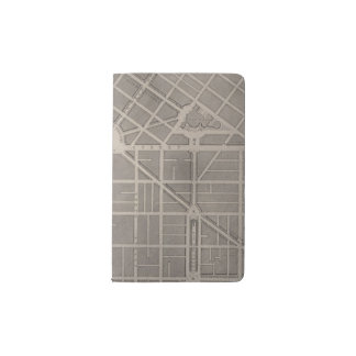 Civic Center, San Francisco Pocket Moleskine Notebook Cover With Notebook