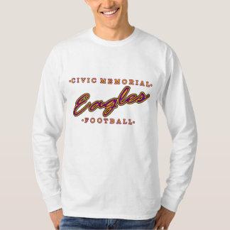 Civic Memorial Football T-Shirt