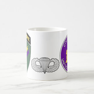 Civil Affairs Airborne SSI and Emblem 1 Coffee Mug