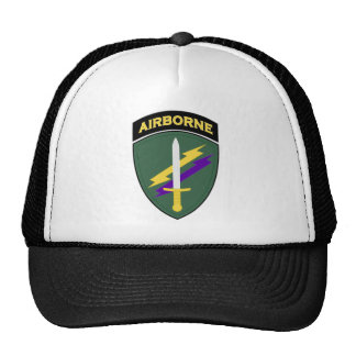 Civil Affairs & Psychological Operations Abn SSI Trucker Hat