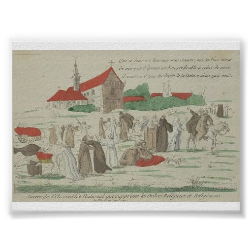 Civil Constitution of the Clergy Print