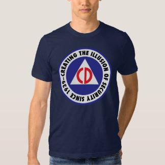 Civil Defense - 'enhanced' Tee Shirt