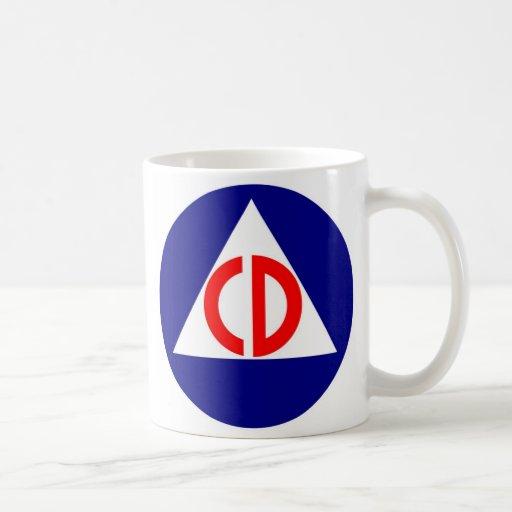 Civil Defense Logo Coffee Mug