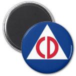 civil defense Magnet