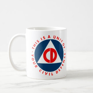 Civil Defense Mug