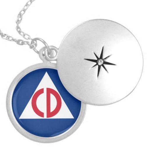 civil defense  Necklace