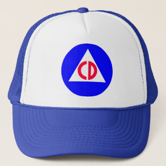 Civil Defense Trucker Hat