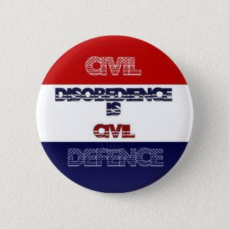 Civil Disobedience Button