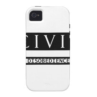 Civil Disobedience iPhone 4 Case