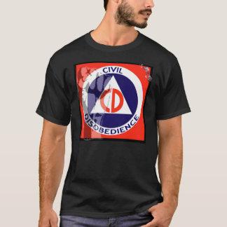 CIVIL DISOBEDIENCE - Dark T-Shirt