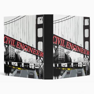 Civil Engineer 3 Ring Binder