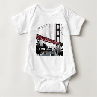 Civil Engineer Baby Bodysuit