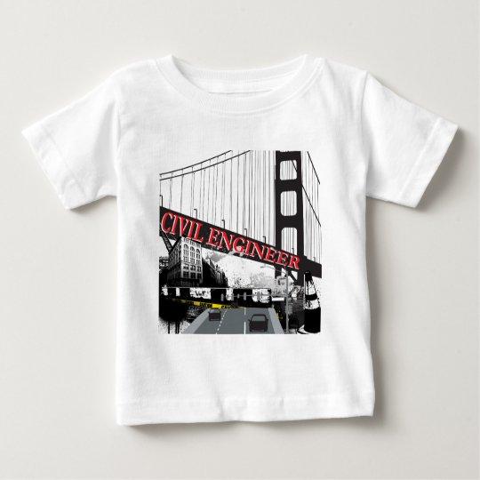 Civil Engineer Baby T-Shirt