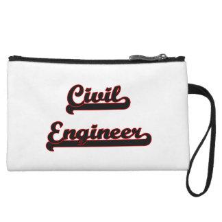 Civil Engineer Classic Job Design Wristlet Purses