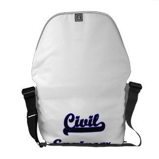 Civil Engineer Classic Job Design Courier Bags